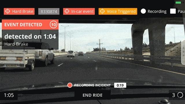 車載カメラアプリnexar